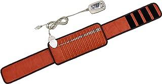 "MediCrystal FIR Bio Magnetic Belt - Natural Amethyst + Tourmaline - PEMF Frequency 10 Hz & Far Infrared Heating 86-158°F - Negative Ion - FDA Reg Manufacturer - Pad 18""L x 8W"" - Strap 55"