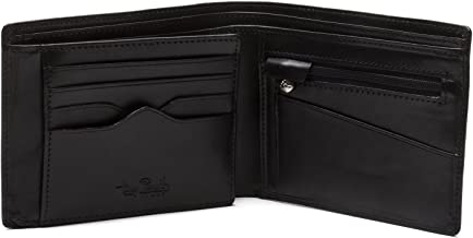 Tony Perotti Italian Leather BiFold Wallet with Coin Pocket and Credit Card Flap