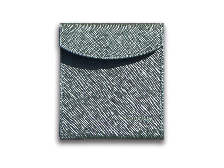 薄さ7ミリの二つ折り財布「フラットウォレット」Cartolare(カルトラーレ)