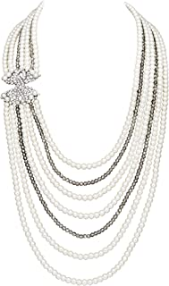 Best vintage inspired pearl necklace Reviews