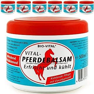 Bio Vital Pferdebalsam 500ml - Salbe Eucalyptusöl Balsam Sport Gel
