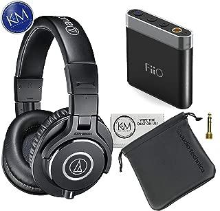 Audio Technica Headphone w/Keep Case Bundles (ATH-M40x, w/ A1 Amp)