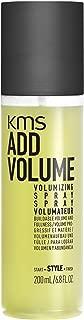 KMS ADDVOLUME Volumizing Spray Buildable, Natural Volume, Intense Fullness, Texture, Width, 6.8 oz