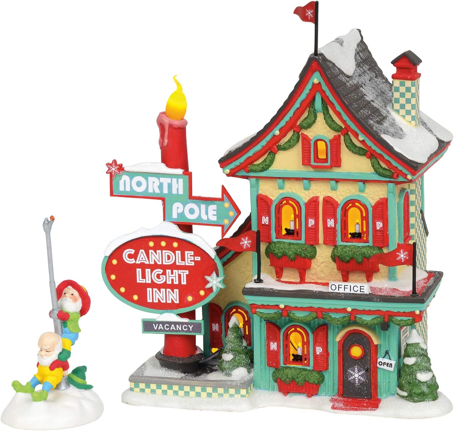 Department 56 North Pole New sales Village Cand Welcoming Series Christmas Factory outlet