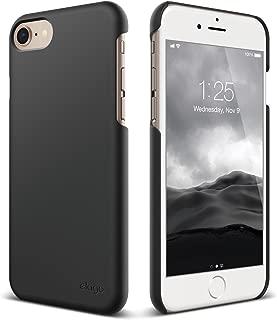 elago iPhone 8 / iPhone 7 case, [Slim Fit 2][Black] - [Light][Minimalistic][True Fit]