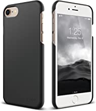 elago iPhone 8 / iPhone 7 case, [Slim Fit 2][Black] - [Light][Minimalistic][True Fit]