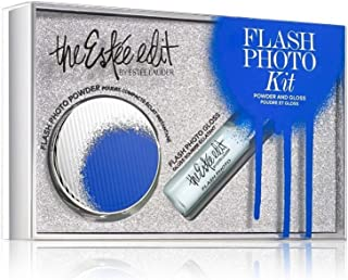 the Estee Edit Flash Photo Travel Kit: Photo Gloss + Powder Compact