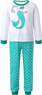 Hemden und Hosen niedlich Winzero M/ädchen-Pyjama-Set Oberteile lang/ärmlig Schlafanzug Baumwolle