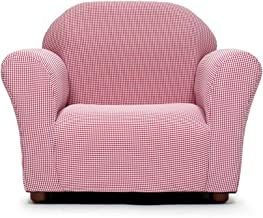 KEET Roundy Kid's Chair Gingham Red