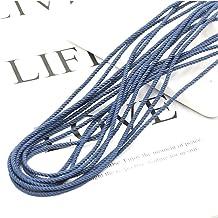 SYBLD 5M 2.5mm Kleur Ronde Elastische Band DIY Naaien Headwear Accessoires (Color : E, Length : 5M)