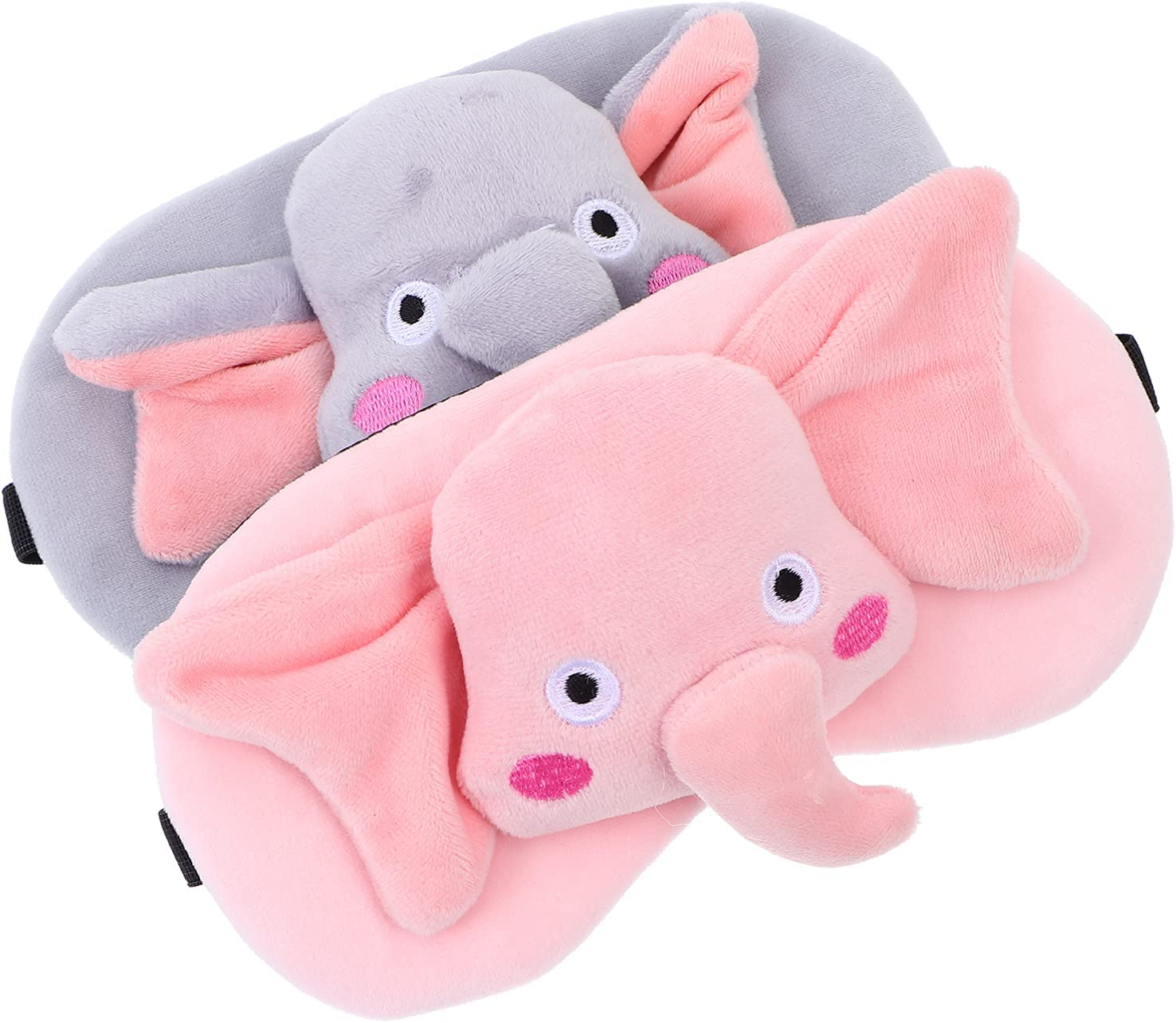 EXCEART 2Pcs Sleeping Adjustable Night Cover Free Shipping Cheap Bargain Gift Clearance SALE! Limited time! Ele Eye Cartoon
