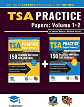TSA Practice Papers Volumes One & Two: 6 Full Mock Papers, 300 Questions in the style of the TSA, Detailed Worked Solutions for Every Question, Thinking Skills Assessment, Oxford UniAdmissions