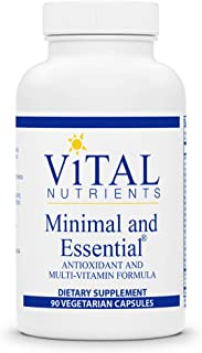 Sponsored Ad - Vital Nutrients - Minimal and Essential - One a Day Multivitamin/Mineral and Antioxidant Formula - 90 Veget...