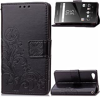 NEXCURIO Sony Xperia Z5 Compact / Z5コンパクト / docomo SO-02H ケース 手帳型 PU レザーケース 耐衝撃 カード収納 スタンド機能 マグネット式 エクスぺリアZ5 Compact ケース 携...