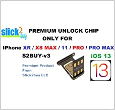 SLICK2BUY AUTO v13.x Compatible with XR / XS MAX / 11 / PRO / PRO MAX, Support AT&T, Verizon, Sprint, T-Mobile, Xfinity, Boost, Cricket, Metro to GSM Networks