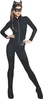 Batman The Dark Knight Rises Adult Catwoman Costume, Black, S