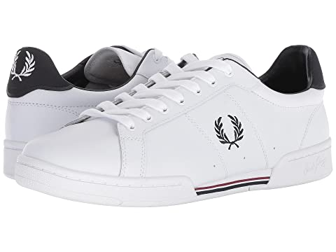 07cd91b4a3e Fred Perry B7222 Leather at Zappos.com