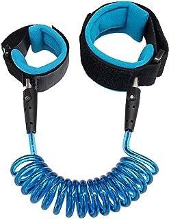 Anti Lost Wrist Safety Strap Walking Hand Belt For Kids (Blue)