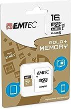 EMTEC - Tarjeta de memoria de 16 GB para Samsung Galaxy Grand Prime, Micro SD clase 10 + adaptador SD