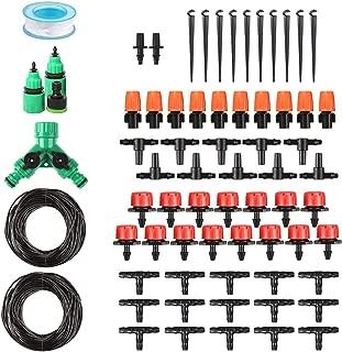 DIY Drip Irrigation Kit Plant Watering System,1/4