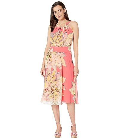 Trina Turk Summery Dress (Pink Grapefruit) Women