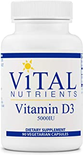 Sponsored Ad - Vital Nutrients - Vitamin D3 - Supports Calcium Absorption and Bone Health - 90 Vegetarian Capsules per Bot...