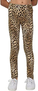 Stretch is Comfort Women's Leggings Brown Cheetah Large
