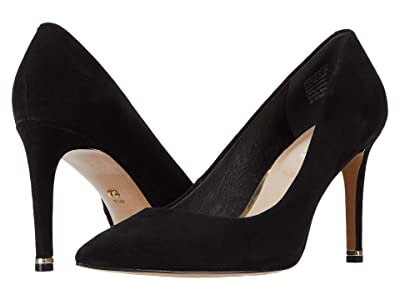 Kenneth Cole New York Riley 85 Pump (Black Suede) High Heels