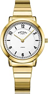 rotary women's stainless steel watch