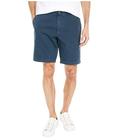 J.Crew 9 Garment-Dyed Chino Shorts (Cove Blue) Men