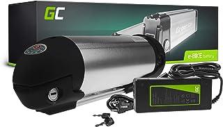 GC® Batería E-Bike 36V 11.6Ah Bicicleta Eléctrica Bottle Li-Ion con Celdas Panasonic y Cargador Greyp Bikes Kreidler Trillium