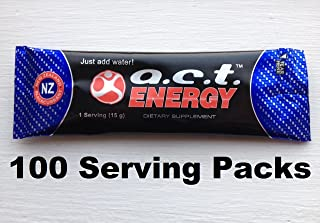 ACT Energy Drink 100 Serving Packs Natural Healthy Energy A.C.T. By Youngevity
