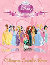 Disney Princess Children's Coloring Book: This A4 113 Page Children's Coloring Book has fantastic images of all the Disney Princess's for you to ... Mulan, Pocahontas, Rapunzel and Snow White.