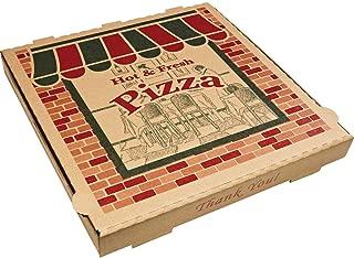 ARV9184314 Corrugated Pizza Boxes, Kraft, 18 x 18