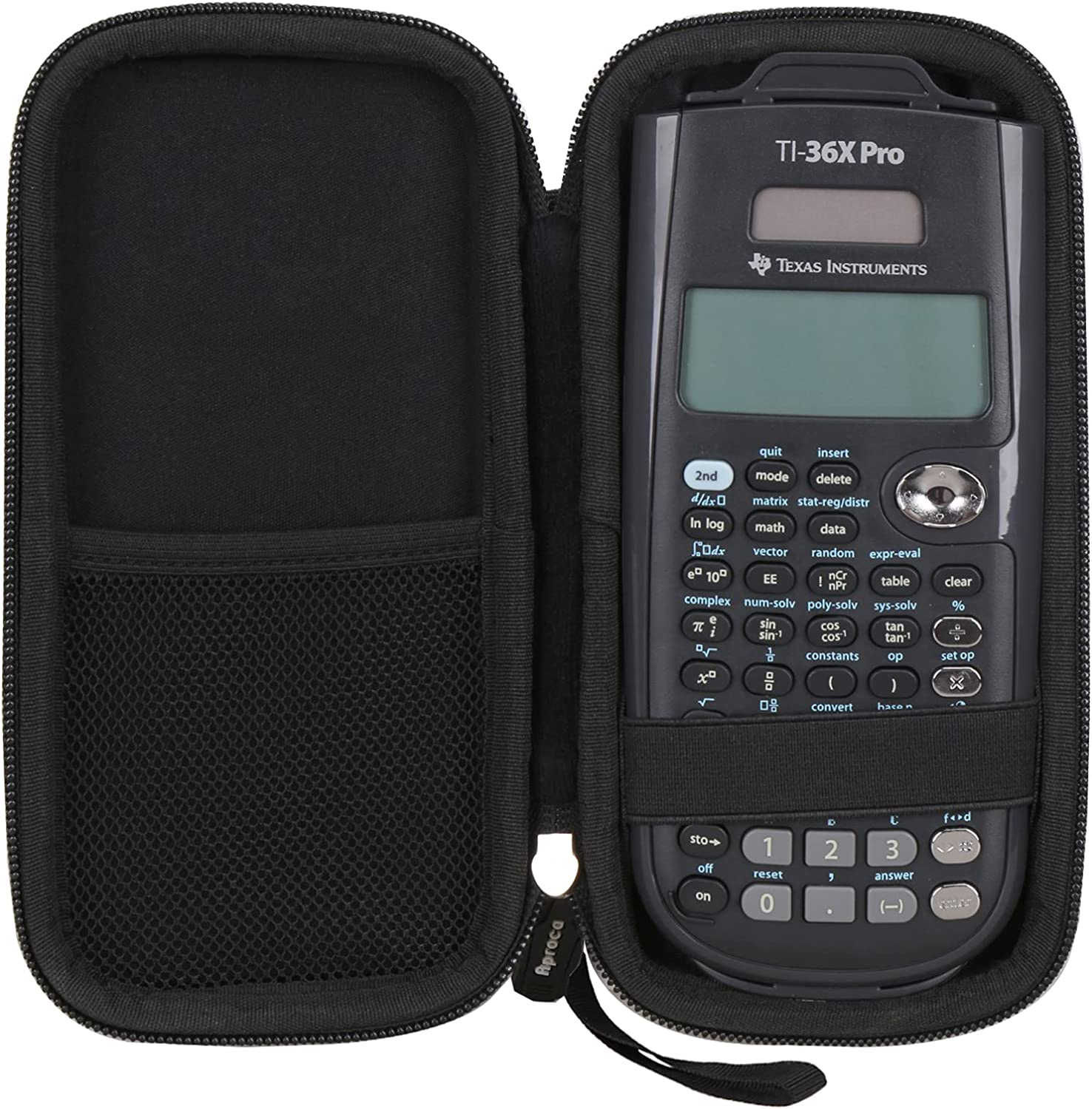 Large discharge sale Aproca Hard Travel Storage Case for Instruments Texas TI-36X Pr sold out