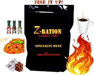 Z-Ration (Zombie MRE): SPECIALTY MENUS! Components '20 - '22 1st Insp. Date! (Fire It Up!)