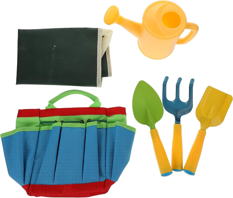 TOYANDONA Little Max 69% OFF Gardener Tool Set with Garden Kids Ga Bag Excellence Tools