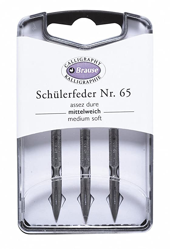 Brause Ecoliere 65 Nibs, 3 Pack