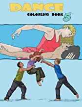 Dance Coloring Book (Volume 5)