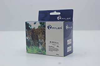 Ryler compatible Ink Cartridges for HP HP951XLY XL-Yellow