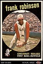 1959 Topps # 435 Frank Robinson Cincinnati Reds (Baseball Card) Dean's Cards 4 - VG/EX Reds