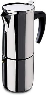 Fagor - Cafetera Inox Etna4, 4 Tazas, 380 Ml, Acero Inox,