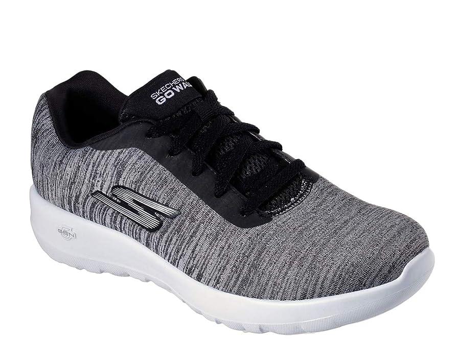 ワーディアンケースオフェンスカイウスレディース 女性用 シューズ 靴 スニーカー 運動靴 GOwalk Joy - 15633 - Black/White [並行輸入品]