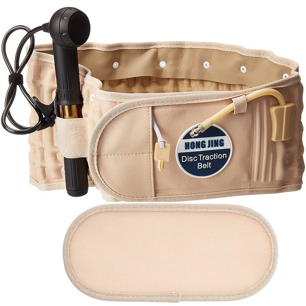 Decompression Back Belt Inflatable for Adj Limited Special Price Relief- Low Pain Import