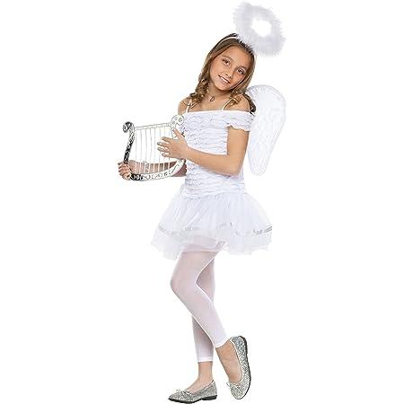 L@@K INFANT WHITE ANGEL 3-12 MONTH HALLOWEEN COSTUME