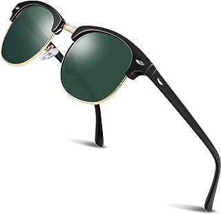 Polarized Sunglasses for Women and Men - wearPro Semi-Rimless Men Sunglasses polarized uv protection WP2006