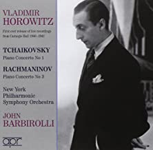 Tchaikovsky and Rachmaninov Concertos