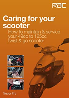 Caring for your scooter – How to maintain & service your 49cc to 125cc twist & go scooter