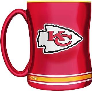 NFL Kansas City Chiefs Sculpted Mug, 14-Ounce