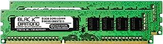 4GB 2X2GB RAM Memory for Apple Mac Pro 3.5GHz 6-Core Intel Xeon E5 Processor (MD878LL/A) Black Diamond Memory Module 240pin PC3-8500 1066MHz DDR3 ECC UDIMM Upgrade